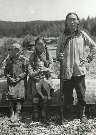 Udege people - Image: Udege Family