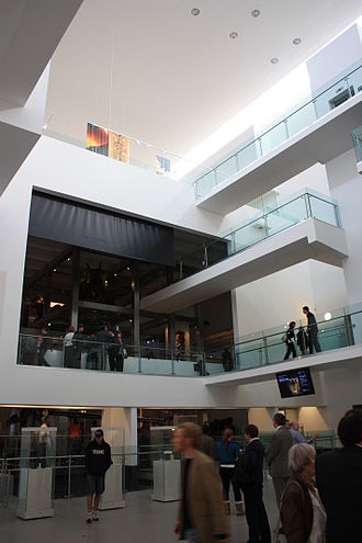 Ulster Museum - The Ulster Museum's main hall, on reopening after its refurbishment in October 2009