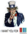 Uncle Sam I want you for Wikidata.png