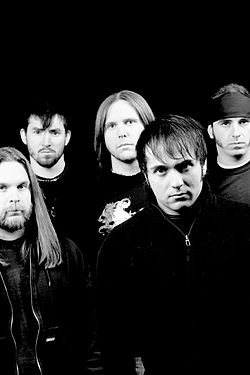 Promotion picture of the band Unearth
