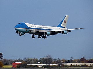 Air Force One Air traffic control call sign of any US Air Force aircraft carrying the President of the United States