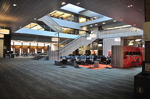 Odegaard Undergraduate Library - The renovated interior of the Odegaard Undergraduate Library