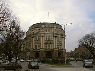 Morava Banovina - The building that served as administrative seat of Banovina. Today serves as University of Niš, front view