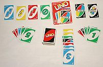 en: The game of UNO.