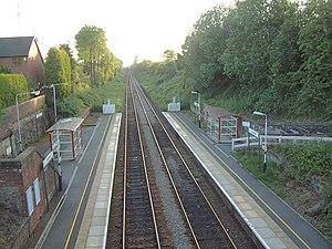 Upholland railway station - Image: Upholland Railway Station