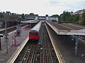 Upminster station District high westbound.JPG