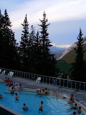 Banff Upper Hot Springs - Image: Upper Hot Springs Banf BNP 2530