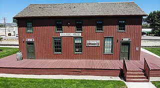 Utah Southern Railroad Depot United States historic place