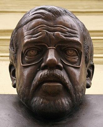Václav Benda - Bust of Václav Benda