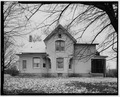 VIEW OF WEST SIDE - Conrad Fox, Jr. House, 3500 Rapids Court, Mount Pleasant, Racine County, WI HABS WIS,51-MTPLE,1-7.tif