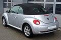 VW New Beetle 1.6 Freestyle Reflexsilber Heck.JPG
