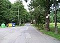 V Šáreckém údolí, zastávka Kuliška, rozcestník.jpg