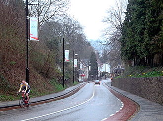 2015 Amstel Gold Race - The Cauberg, climbed four times during the race