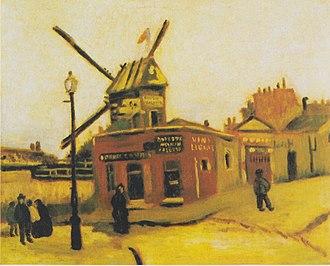Le Moulin de la Galette (Van Gogh series) - Image: Van Gogh Le Moulin de la Galette 1