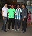 Varun Dhawan and Jagdeep Sidhu at screening of Shadaa.jpg