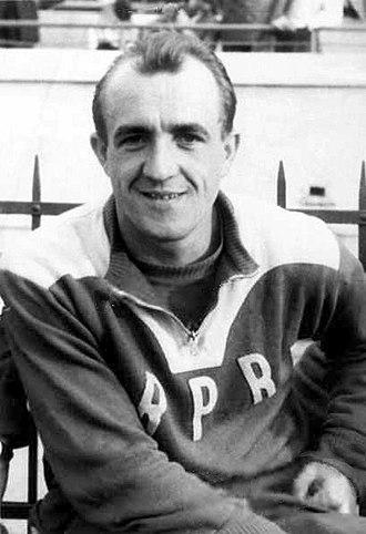 Vasile Zavoda - Zavoda in 1955