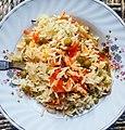 Veg Biryani or Mittar pulao in hindi, a very tasty dish made up of peas, rice n aromatic spices.jpg