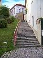 Veleslavín, Potoční, schody zdola.jpg