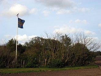 Flag of Vendsyssel - Vendelbrog in Hjørring, 2009