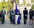 Venerable Hermandad del Santísimo Cristo de la Lanzada y María Santísima de la Caridad, Granda, Semana Santa 2009 (17).JPG