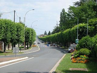 Veneux-les-Sablons Part of Moret-Loing-et-Orvanne in Île-de-France, France
