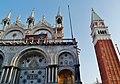 Venezia Basilica di San Marco Nordfassade 2.jpg