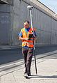 Vermessung mit Trimble GPS System in Sofia 2012 PD 3.jpg