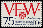 Veterans of Foreign Wars 10c 1974 issue U.S. stamp.jpg