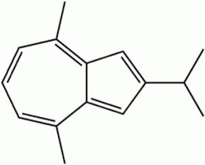 Vetivazulene - Image: Vetivazulene