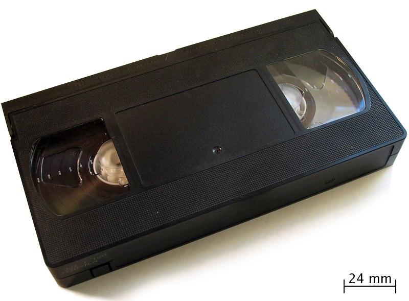 Vhs cassette top