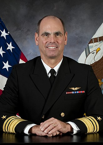 David Buss (United States Navy) - Vice Admiral David H. Buss    (Official portrait)
