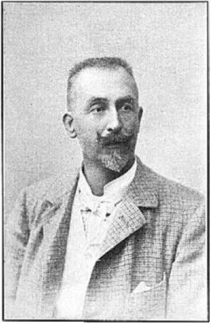 Viktor von Tschusi zu Schmidhoffen - A photograph of Tschusi from a 1905 issue of The Condor