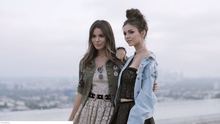 Victoria Justice and her sister Madison Justice for LeFair Magazine