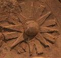 Victory stele of Naram Sin 9071 Star-sun-glyph.jpg