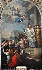 Saint Denis prêchant les Gaules
