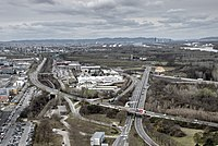 Vienna International Airport from the Air Traffic Control Tower 26.jpg