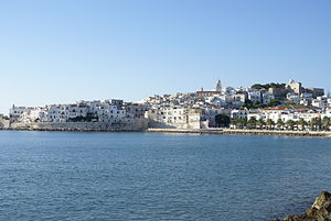 Vieste - Vieste, view from the port