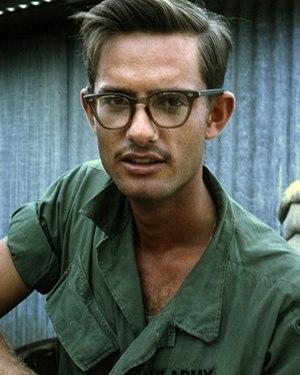 GI glasses - GI glasses, gray cellulose acetate, 1960s design