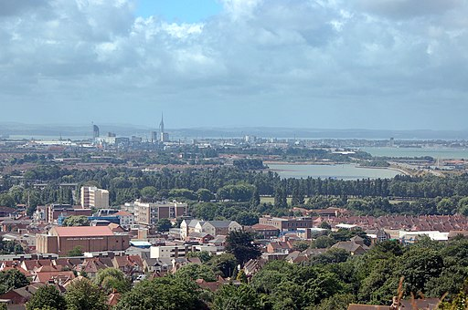 View Of Portsmouth from Portsdown Hill (2638216449)