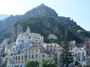 Amalfi - View of Amalfi