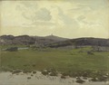 View of Galtrö. Study (Otto Strützel) - Nationalmuseum - 20330.tif