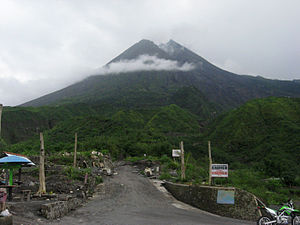 View of summit of Merapi, 2011.jpg