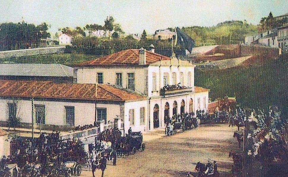 Vigo. Estación de Ferrocarril, s. XIX