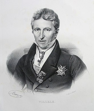 Ultra-royalist - Jean-Baptiste de Villèle, Ultra-royalist Prime Minister of France from 1821 to 1828