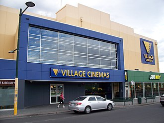 Village Cinemas - A four-screen, free standing Village Cinema in Glenorchy, a northern suburb of Hobart.