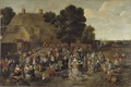 Village Wedding and Open Air Feast - Nationalmuseum - 18295.tif