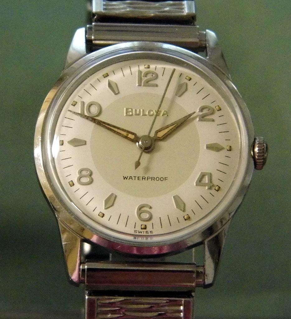 File:Vintage Bulova Manual Wind Men's Watch, Swiss-Made ...