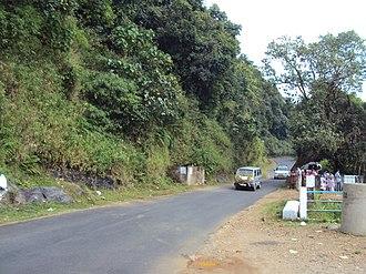 Talakaveri - Talakaveri Road