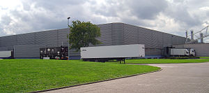 Vitra (furniture) - Factory building, Nicholas Grimshaw