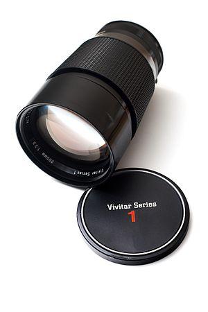 Vivitar - Vivitar Series 1 200mm f/3, circa mid-1970s
